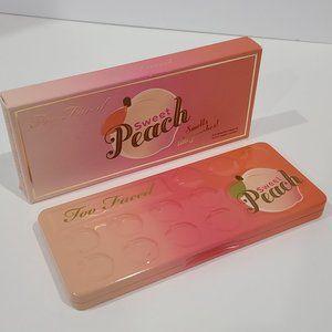 🌸 NEW Too Faced Sweet Peach Eyeshadow Palette NIB